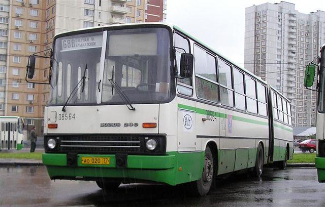 Фотографии автобусов 5 и 6 колонн ФАТП.